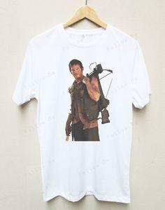 Daryl Dixon Norman Reedus The Walking Dead T-shirt 15.00 on etzy