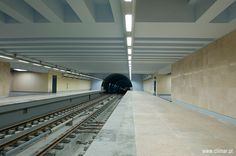 Climar Iluminação - estação de metrô aeroporto de Lisboa