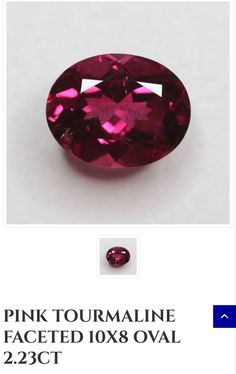 10 x 8mm Pink Tourmaline, The Creator, King, Ideas, Thoughts
