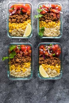 Lunch Meal Prep, Meal Prep Bowls, Easy Meal Prep, Easy Meals, Meal Preparation, Weekly Meal Prep, Sunday Meal Prep, Lunch Time, Cheap Meals