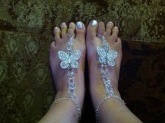 Hey, I found this really awesome Etsy listing at https://www.etsy.com/listing/154557544/toe-jamms-crystal-butterfly-foot-jewelry