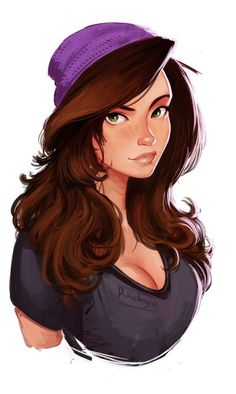 Design & Art Inspirations For The Day Character Design Cartoon, Character Drawing, Girl Cartoon, Cartoon Art, Hipster Girl Drawing, Girl Face Drawing, Wow Art, Character Portraits, Female Characters