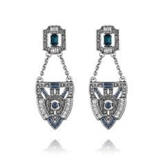 Jardins du Trocadéro Post Drop Earrings  $48  https://www.chloeandisabel.com/boutique/MeredithAlexander##34051