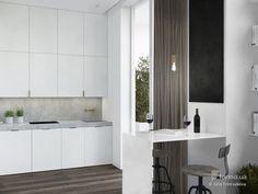 Open studio apartment, Julia Trintsukova, Кухня, Дизайн интерьеров Formo.ua