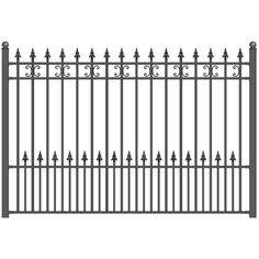 Aleko x Steel Fence, St.