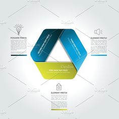 Triangle infographic, chart, scheme.. Graphic Design Infographics
