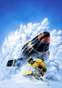 Gavin Rothery - Directing - Concept - VFX - Gavin Rothery Blog - More Chris Foss