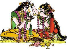 Shri Sita Ram padhigrahan Phad Painting, Indian Art Gallery, Indian Illustration, Cartoon Butterfly, Art Optical, Tanjore Painting, Madhubani Art, India Art, Indian Art Paintings