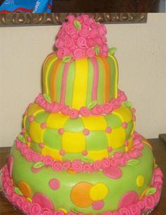 Fondant Cakes of 2012: Fondant Birthday Cakes