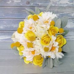 Half blooming yellow wooden roses definitely say that the sender is keen on friendship alone. Wooden Roses, Everlasting Love, Bloom, Yellow, Plants, Plant, Planets