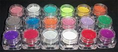 Unique Pigments Glitter Pots, glitter for hair, eyes, face, lips, nails, etc!