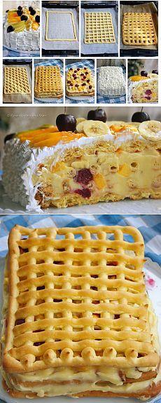 Лакомый торт «Тропиканка»: летний десерт, от которого невозможно оторваться