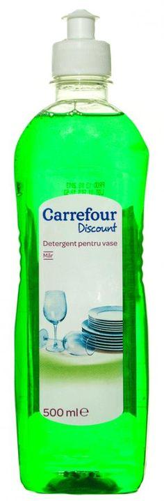 Detergent pentru vase cu parfum de mar verde 500ml Carrefour Discount
