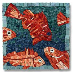 'One fish, two fish, orange fish, new fish' Artist: Debra Hagen