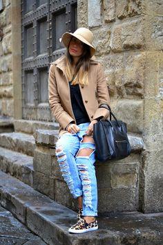 Hat + Jeans + Shoes