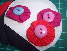 Tutorial: fiori di stoffa con bottoni