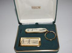 Barlow Golf Theme Scrimshaw Pocket Knife and by SCLadyDiJewelry