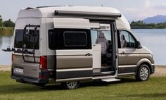 Volkswagen Grand California, The latest model from Volkswagen Commercial Vehicles, the Grand California, will make its debut at the Caravan Salon in Düsseldorf August to 2 September). Caravan Salon, Camper Caravan, Camper Van, Campers, Volkswagen Germany, Vw Crafter, Class B, Van Camping, Cars