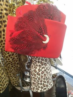RnJ Accessories Red Peacock by Lost Crowns