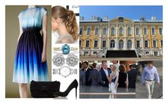 """Attending a cocktail party at the palace prior to William and Elza's civil wedding ceremony"" by dana-avots ❤ liked on Polyvore featuring Marc by Marc Jacobs, Jonathan Saunders, Betsey Johnson and L.K.Bennett"