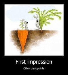 First impression ;)