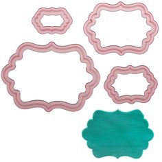 Sweet Elite Tools- Dottie Frame Cutter Set for Rolled Fondant, Gumpaste or Cookies by Marina Sousa ** Want to know more, visit : Baking Accessories