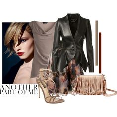 A fashion look from October 2014 featuring Amanda Wakeley blouses, Alexander McQueen jackets and Ted Baker skirts. Browse and shop related looks.