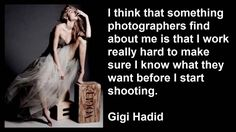 Gigi Hadid Best Quotes