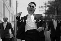 """Is PSY's """"Gentleman"""" Video Just a Giant Commercial? Well, PSY's newest music video """"Gentleman"""" looks like a smash hit. It also looks like it might be filled with product placements. Go figure! Psy Gentleman, Music Tv, Pop Music, Psy Kpop, Mature Mens Fashion, Kid President, Robin Thicke, Picture Blog, Movies"""