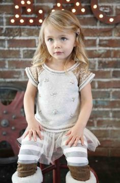 Girls Sara Jessica Jeweled Sparkle Tunic Preorder 12 Months to 6X
