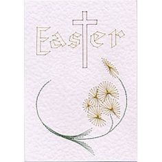 Easter Cross | Easter patterns at Stitching Cards.
