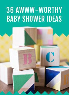 36 Baby Shower Ideas You Can DIY
