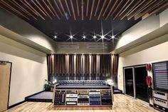 Revolution recording studio, studio A, Toronto