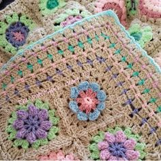 The Patchwork Heart: Emily's Garden ~ a blanket of flowers