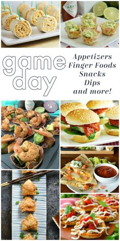 Get ready for game day with this amazing line up of favorite tailgate and football party appetizers, finger foods, dips, snacks and more! Everything you need to have an awesome snack table for your big event and to cheer your favorite team on with the best appetizer recipes on the block!