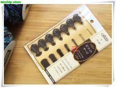 Япония Клевер новый продукт Пико датчик для кружево фриволите 1 комплект = 7 шт.