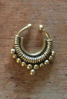 Sita Septum Cuff – Gold http://www.thefreedomstate.com.au/