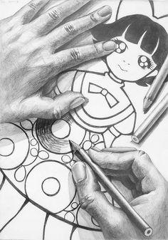 美術への確実な一歩に|新宿美術学院|芸大・美大受験総合予備校|2016年度 学生作品/デザイン・工芸科 Cool Drawings, Pencil Drawings, Feet Drawing, Art Lessons, How To Draw Hands, Sketches, Graphite, Illustration, Pattern