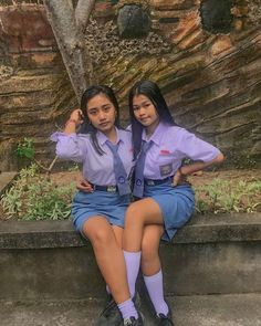 Cute Indonesia school girls All Girls School, School Girl Dress, School Dresses, College Girls, Girls Dresses, Cute Japanese Girl, Cute Young Girl, Indonesian Girls, Hollywood Star
