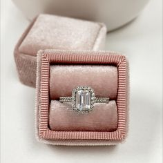 There is nothing quite like an emerald cut! 😍