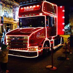 The Christmas coca cola truck Coca Cola Christmas, Trucks, Train, Truck