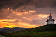 The last light by Cezar Machidon on Lighthouses, Clouds, Celestial, Sunset, Nature, Outdoor, Outdoors, Naturaleza, Sunsets