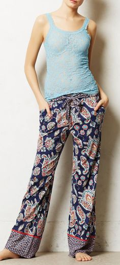 Anthropologie  Paisley Pop Loungers
