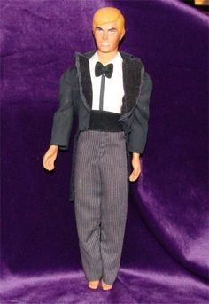 vintage 1970s Ken doll from GypsySeller on etsy