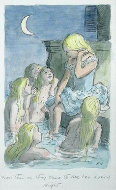 Edward Ardizzone, RA (1900-1979) The Little Mermaid