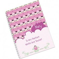 Personalised Teacher's Diary - Miss Owl