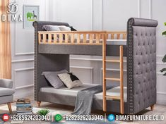Bunk Bed Sets, Bunk Beds, Queen Sheets, Bed Sheets, Home Furniture, Furniture Design, Wood Ladder, Bed Mattress, Bedroom Styles