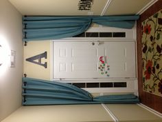 Front entry curtains