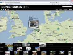 IconicHouses.org  | webportal houses by famous architects