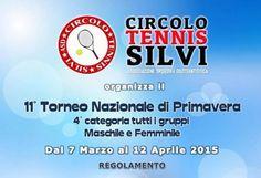 Eliminate alcune teste di serie all'XI Torneo di Tennis di Primavera di 4° categoria di Silvi - Notizie in Provincia